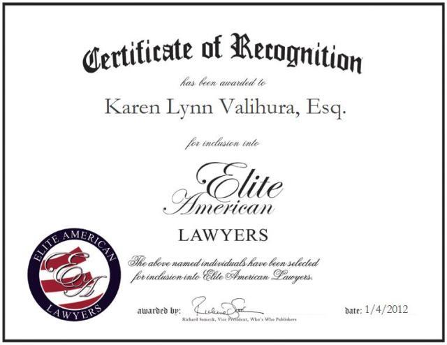 Karen Lynn Valihura