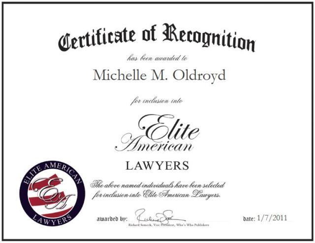 Michelle Oldroyd