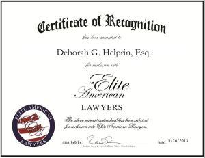 Deborah G. Helprin, Esq.