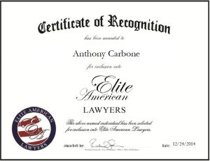 Anthony Carbone