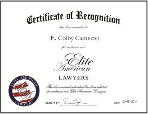 E. Colby Cameron