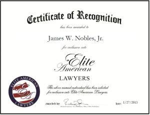 James W. Nobles, Jr.