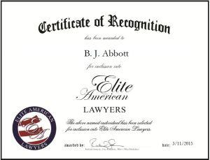 B. J. Abbott