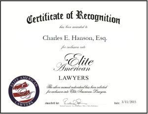 Charles E. Hanson