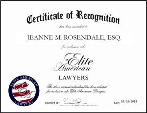 Jeanne Rosendale