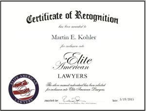 Martin E. Kohler