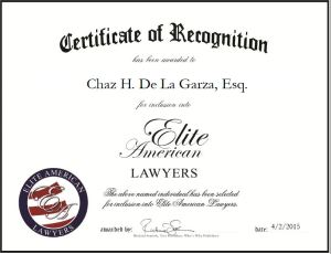 Chaz H. De La Garza