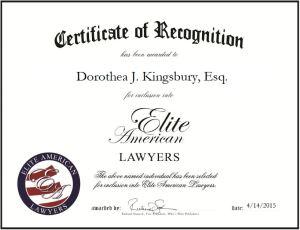 Dorothea J. Kingsbury