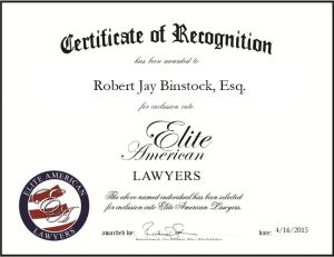 Robert Jay Binstock, Esq.