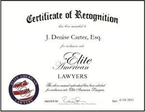 J. Denise Carter, Esq.