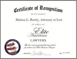 Marion L. Beatty