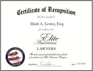 Mark A. Lester, Esq.