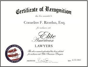 Cornelius F. Riordan, Esq.