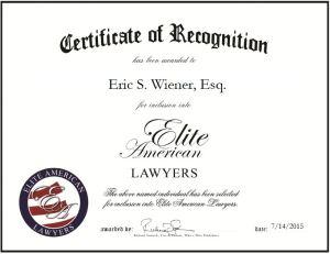 Eric S. Wiener, Esq.