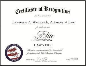 Lawrence A. Weinreich