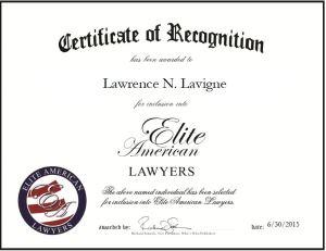 Lawrence N. Lavigne