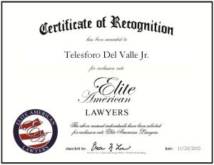 Del Valle, Telesforo 1814981