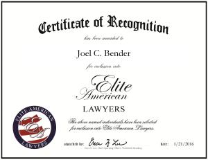 Bender, Joel 1842970
